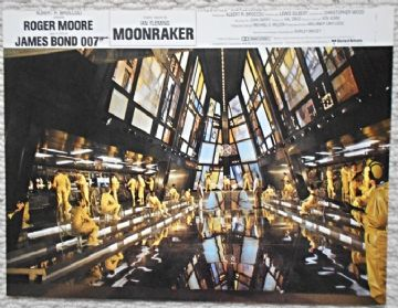 Moonraker, Original French still, James Bond in the Space Station, '79 (JB24)